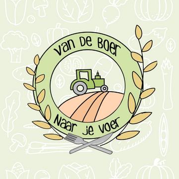Logo Design | Van De Boer Naar Je Voer
