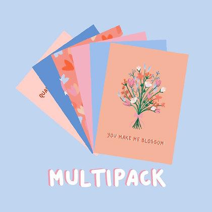 Multipack of 6