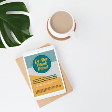 Digital Flyer Mock-up | MeeMaakMand