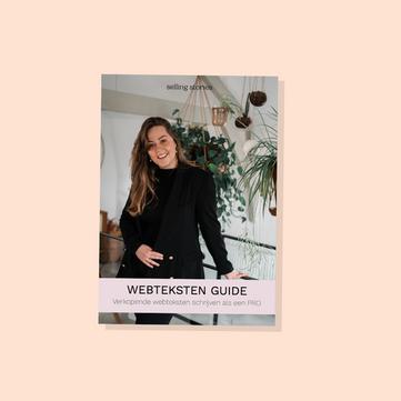 Webteksten e-guide | Selling Stories