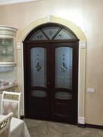 Витражные двери в Актау