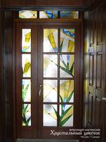дверь в технике тиффани