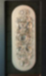 Стеклянный барельеф в Самаре