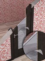 Схема монтажа в дверь