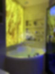стонавая панель из оникса