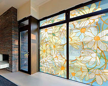 стеклянная стена
