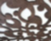 кружевной узор из дерева