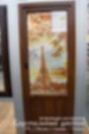 Фотовитраж в двери