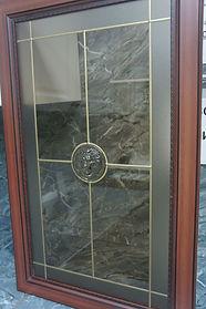 барельельеф на бронзе
