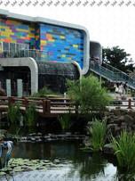 Фасад музея в Корее