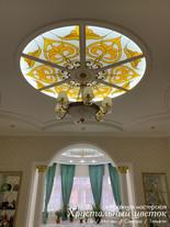 Казахский орнамент в интерьере