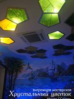 светильники тиффани в коридоре
