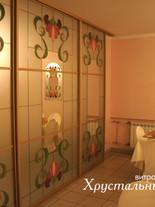 витражные двери в кафе