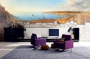 фреска гавань