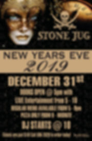 Stone Jug New Years Eve Poster 2019 (1)_
