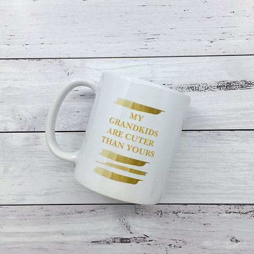 Mug - Grandparent Gold
