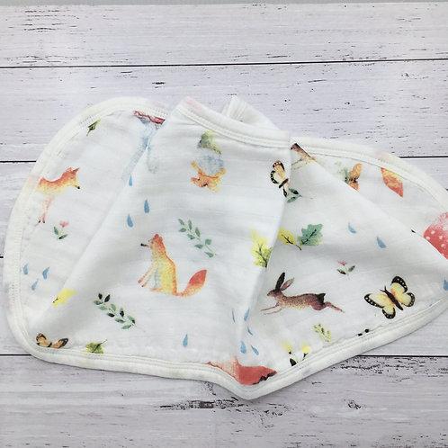 Woodland Burp Cloth