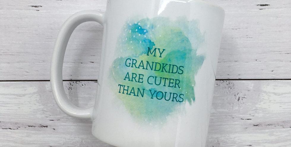 Mug - Grandparent Watercolor