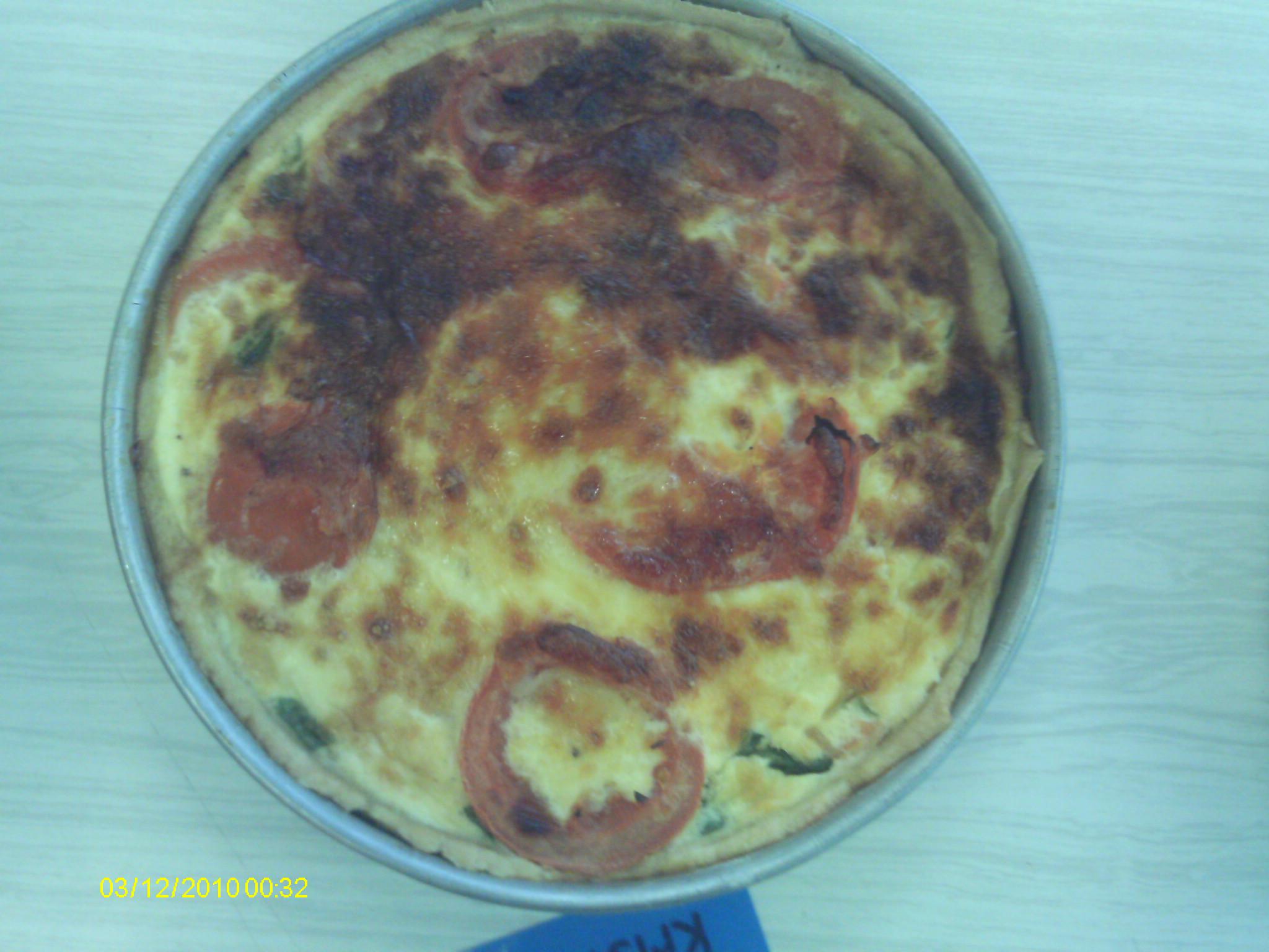 Tomato & Basil Tart