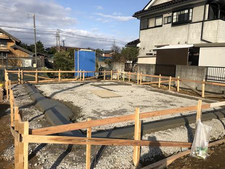 基礎工事〜コンセプトハウスKINOKO〜
