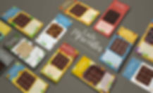 Tablette de chocolat Mock up