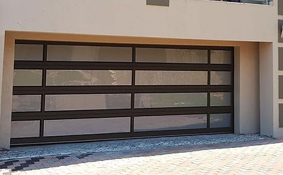Aluminium doors and Garage doors