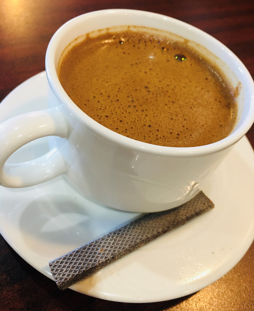Greek Coffee from Creperi Cafe