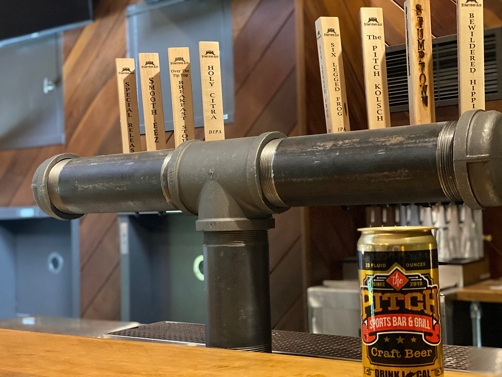 Stumptown Ales taps at The Pitch