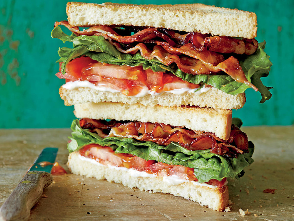 Behold ... the mighty BLT!