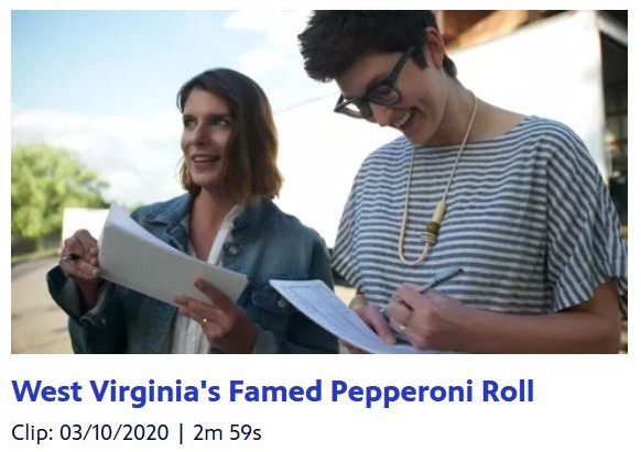 WV's own pepperoni rolls stars in new PBS series