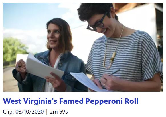 """VIDEO: Pepperoni roll clip from """"Somewhere South"""" PBS series"""