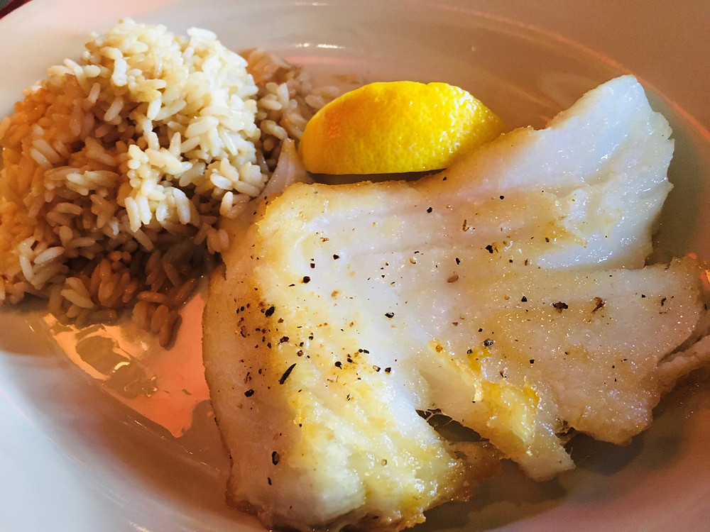 Chilean Sea Bass at Tidewater Grill