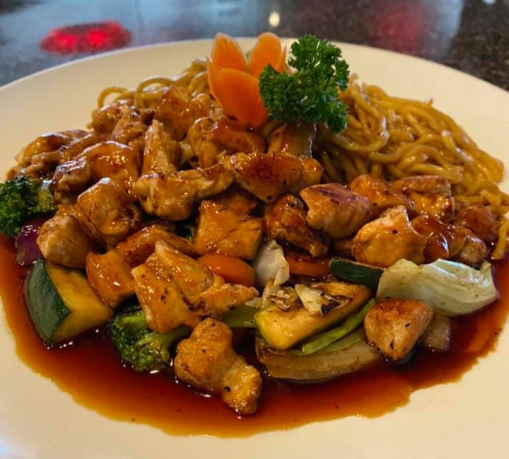 Chicken Teriyaki, courtesy of Kobe Asian Fusion
