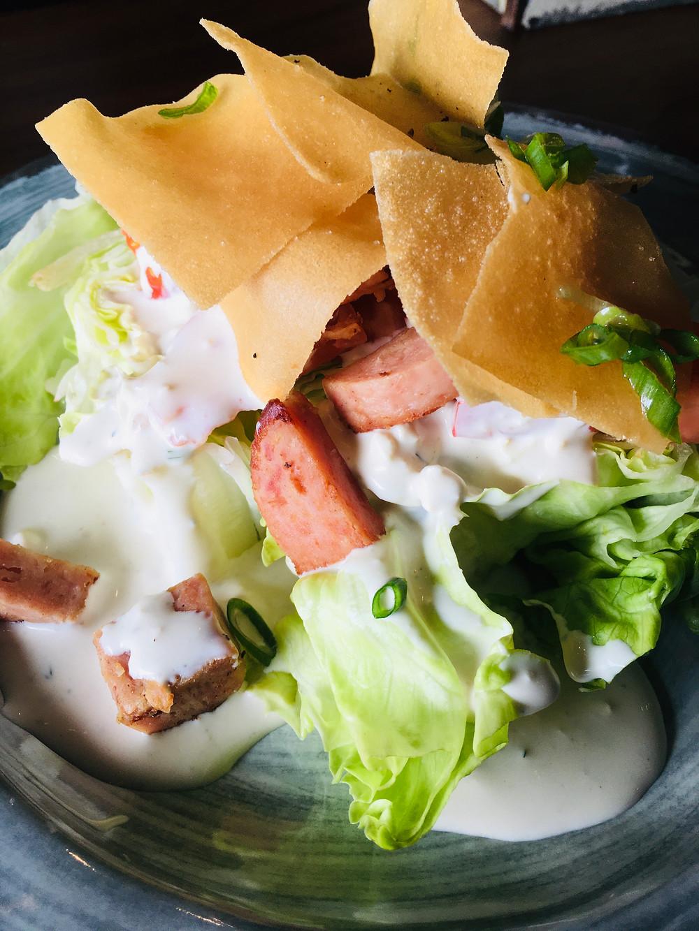 Filipino Wedge Salad from Barkada's restaurant