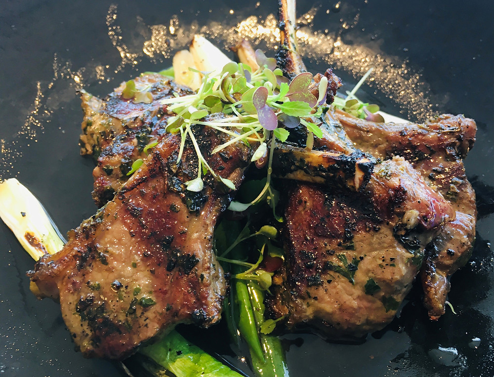Lamb Chops from Infinity Skybar & Cafe