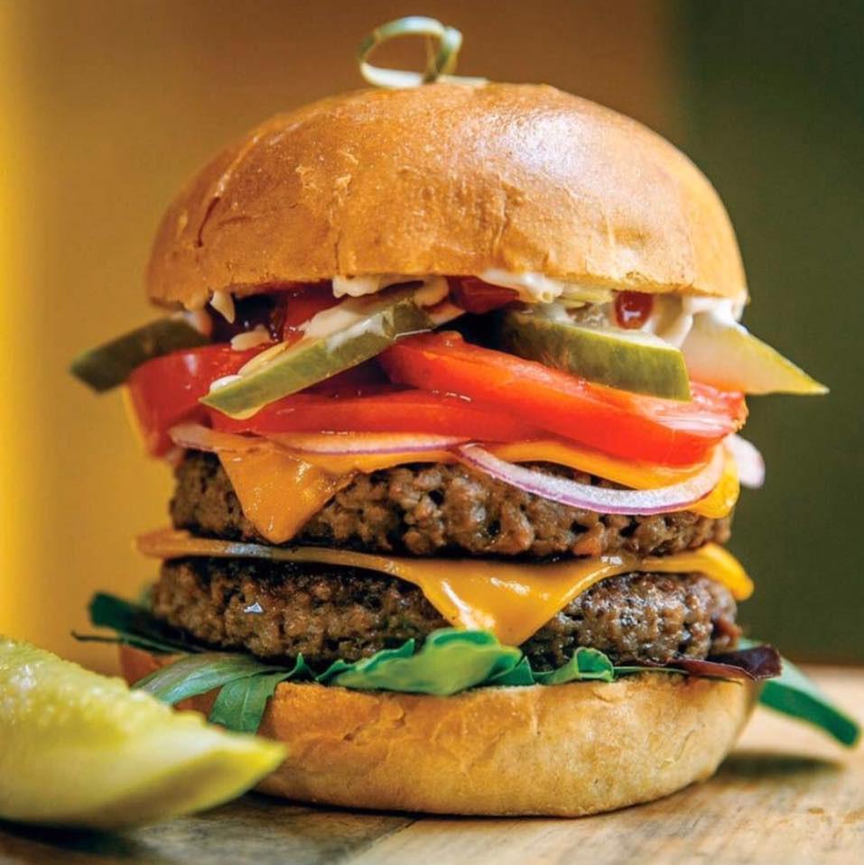 Vegan Burger courtesy of Kelley Farm Kitchen