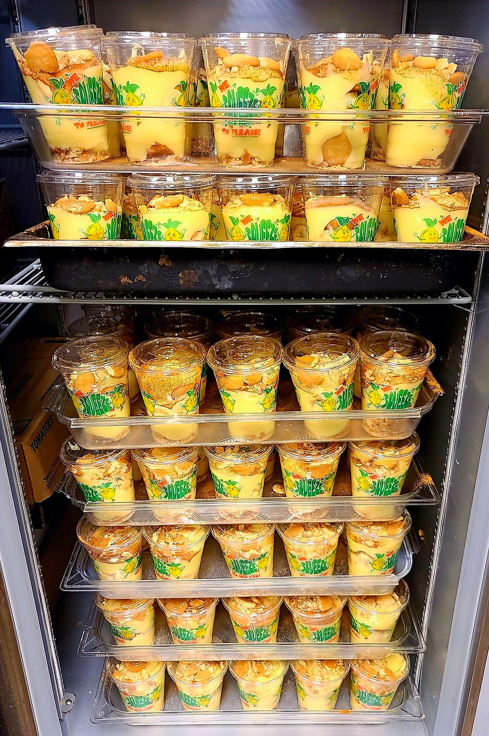 Now that's a LOTTA Banana Puddin'!