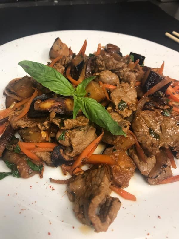 Beef Stir-Fry, courtesy of Ichiban