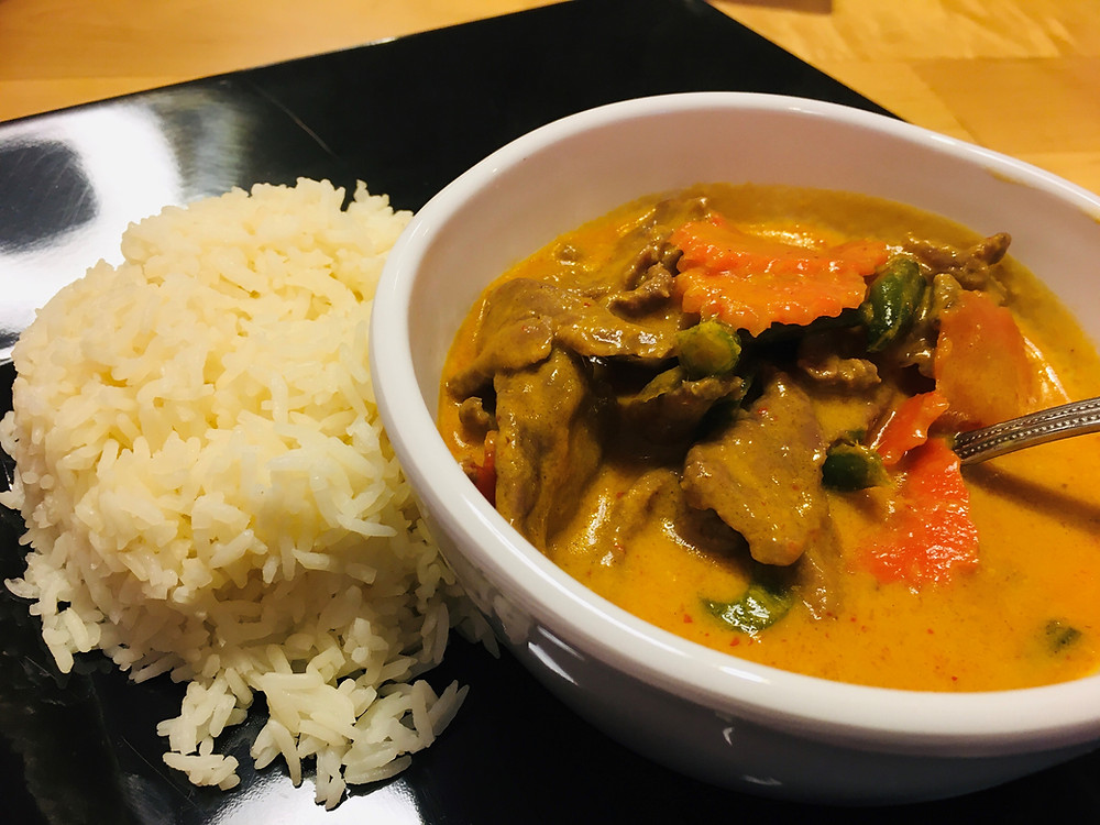 Panang Curry from Elephant Thai