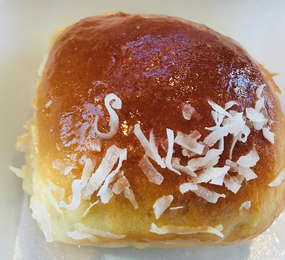 Sweet Coconut Bun from Melange Cafe