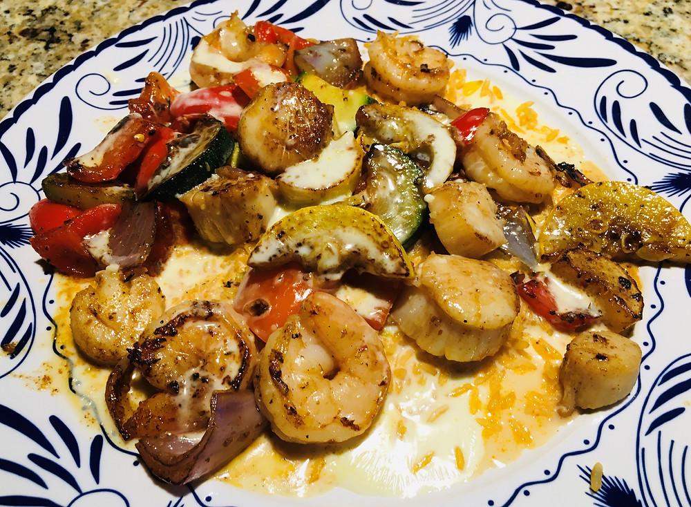 Camerones Locos from Roca Mexican Grill