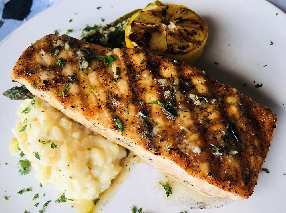 Herb-Roasted Salmon from Ristorante Abruzzi