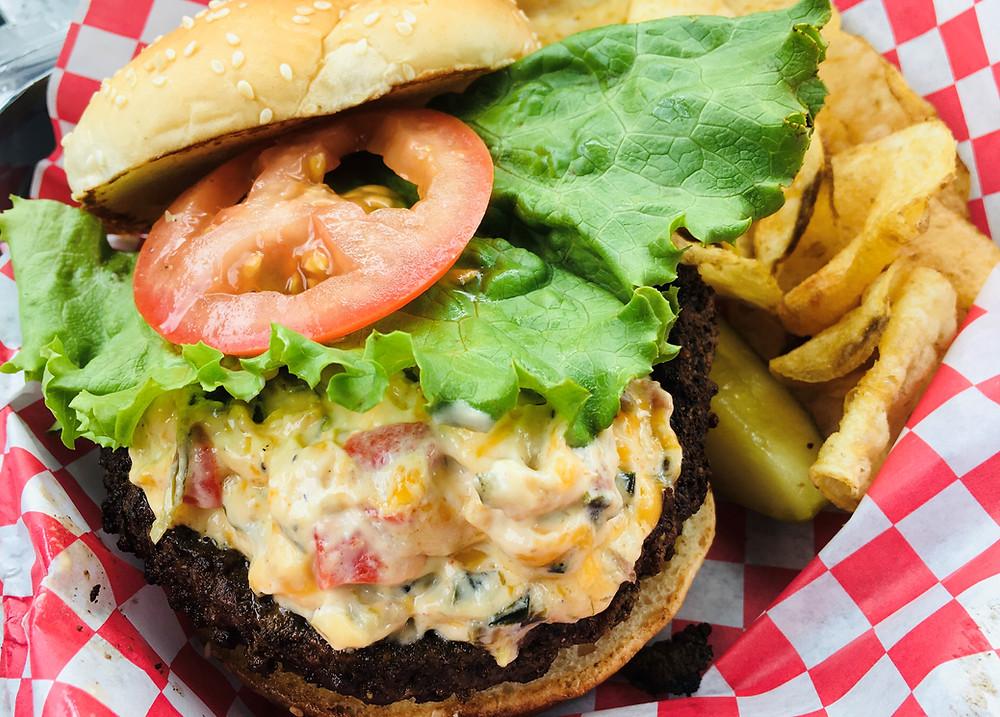 Ramp Burger from Ridge View BBQ