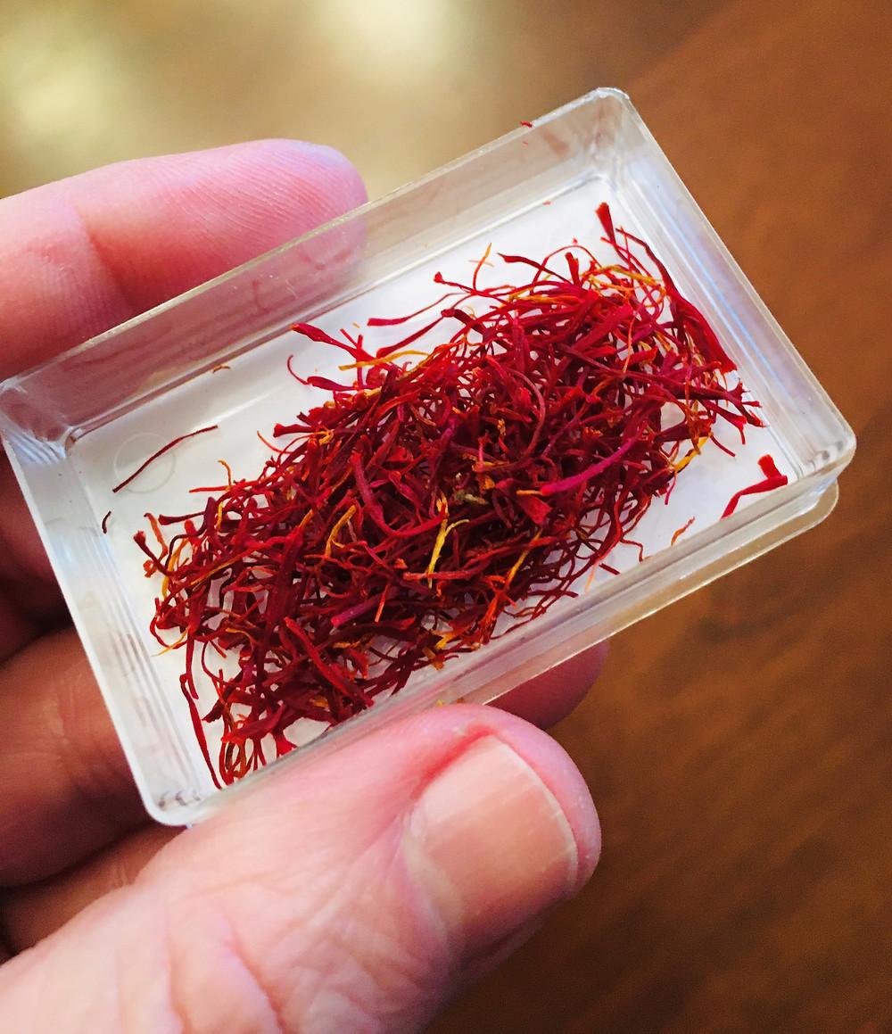 My $5 pinch of saffron
