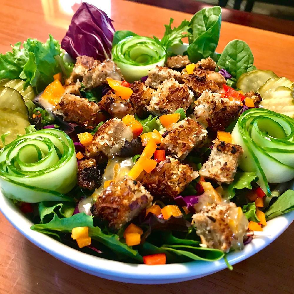 Salad courtesy of Kelley Farm Kitchen