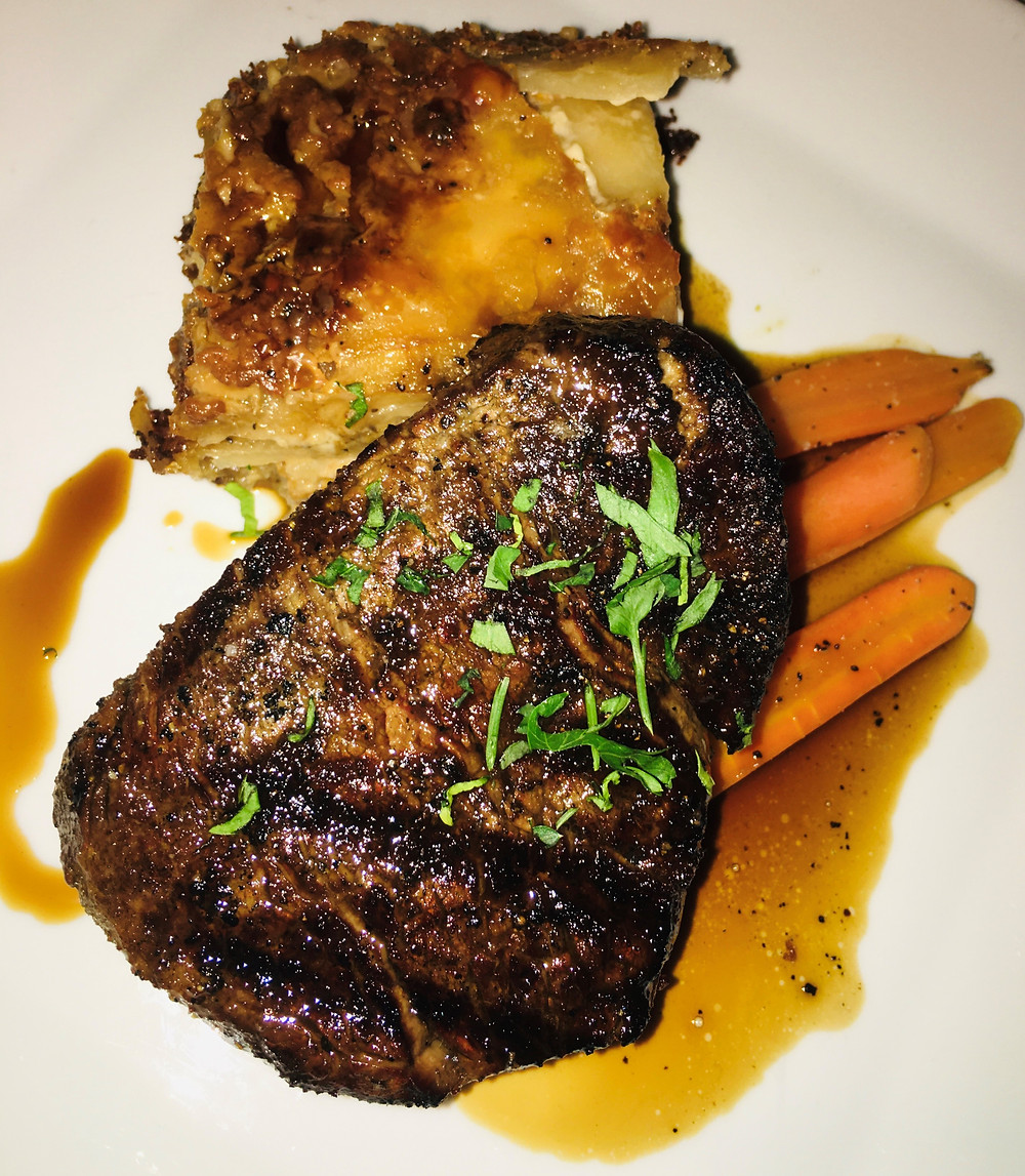 Filet with Potatoes & Carrots from Noah's