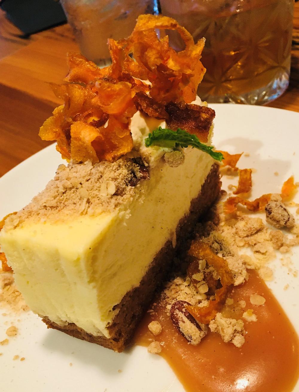 Carrot Cake Cheesecake from 1010 Bridge