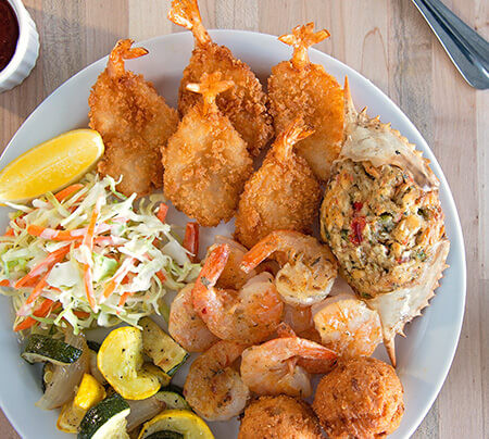 Seafood Platter from Shoney's