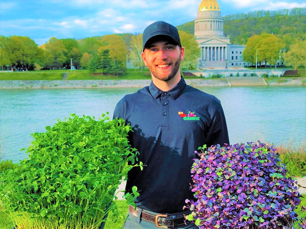Matt Hammack, founder and owner of OH MY GREENS