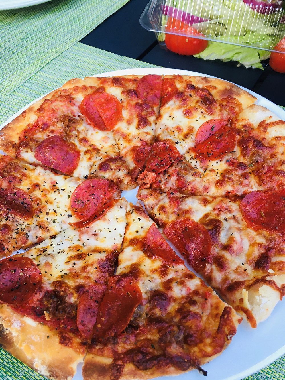 Pepperoni & Sausage Pizza from Soho's at Capitol Market